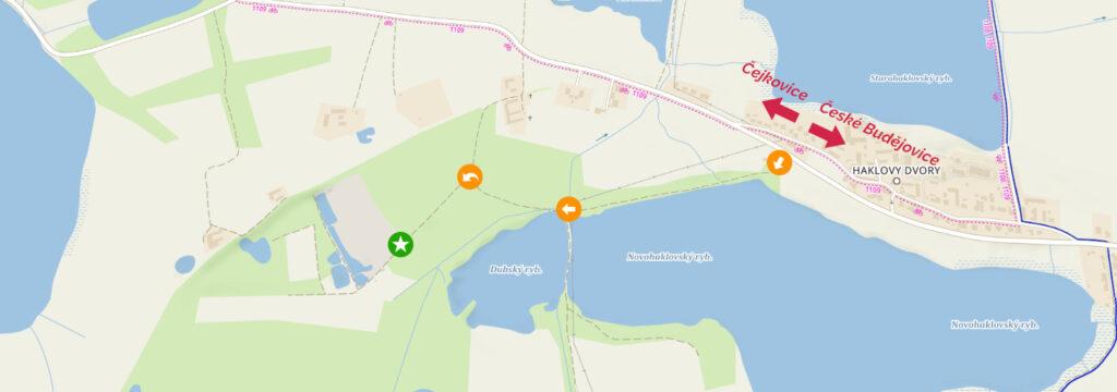 Mapa kudy k nám